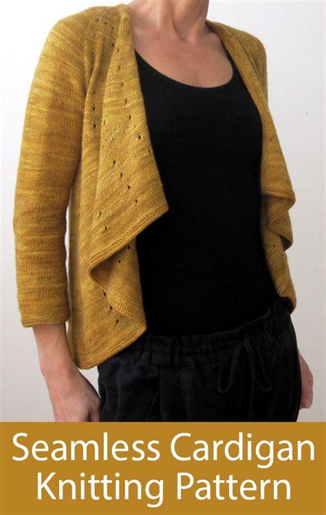 knit draped cardigan knitting pattern for seamless draped cardigan vitamin d