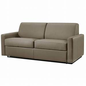 canape convertible cuir systeme rapido dream verysofa With canapé convertible cuir