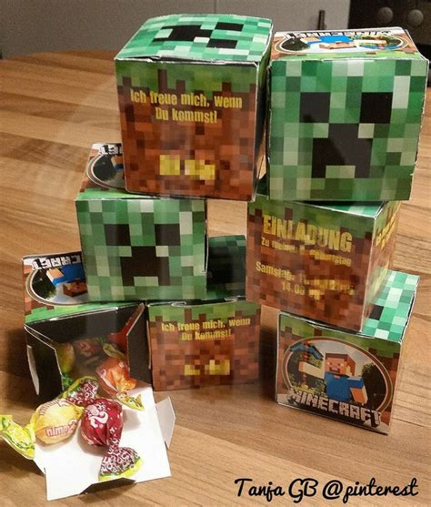 Ok so this is what i have been working on for most of my free time pease comment and rate! 8. Geburtstag Minecraft Einladungen mit süßem Inhalt Junge #TanjaGB@pinterest   Minecraft ...