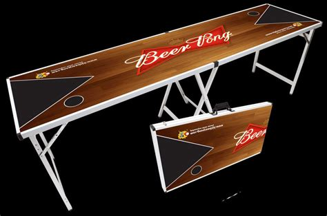 homemade beer pong table major league beer pong tailgating ideas