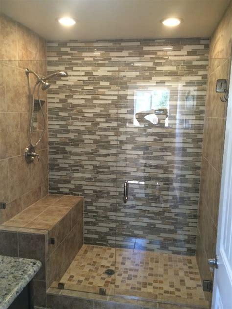 custom shower ideas custom half inch enclosure patriot glass and mirror