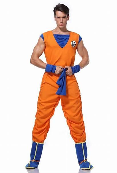Goku Cosplay Costume Halloween Suit Dragon Ball