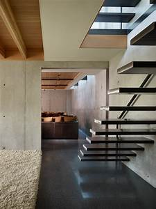 Inspired Floating Staircase convention Seattle Industrial