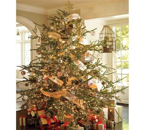 pottery barn christmas tree christmas pinterest