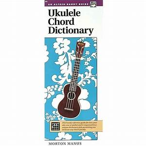 Alfred Ukulele Chord Dictionary  Handy Guide Book For Sale