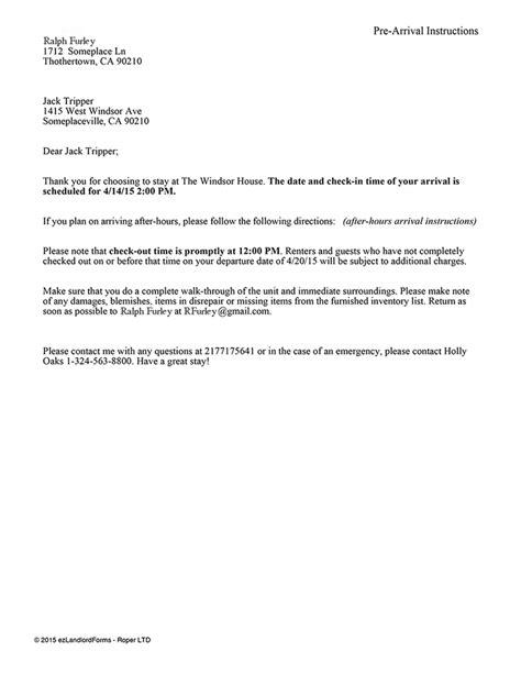 sample certificate  rental occupancy