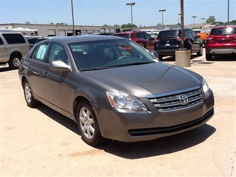 Find Used 2007 Toyota Avalon 4dr Sdn Xl In Tulsa, Oklahoma