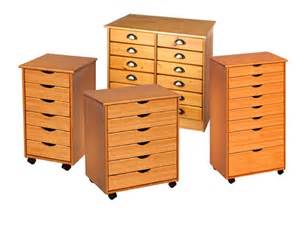Rolling Cart with Drawers