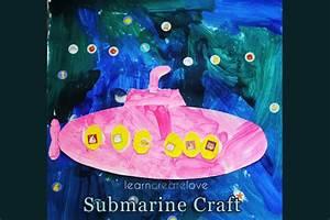 Submarine Craft with Printable