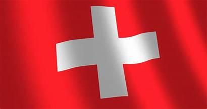 Flag Switzerland 4k Background Swiss Waving Transparent