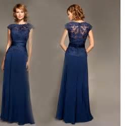 cap sleeve bridesmaid dresses floor length a line floor length chiffon cap sleeves lace sash navy blue bridesmaid dresses formal dresses jpg