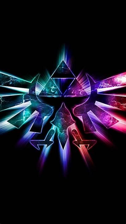 Triforce Iphone Wallpapers Gaming Zelda Mangaka Legend