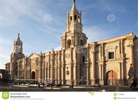 architecture arequipa peru stock photo image 17758894