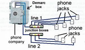 Basic House Wiring Diagram For Phones  Doorbells  And