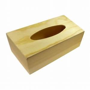 Boite Mouchoir Bois : bo te mouchoirs en bois brut d corer ~ Teatrodelosmanantiales.com Idées de Décoration