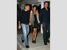 Photos of George Clooney, Elisabetta Canalis, and Rande