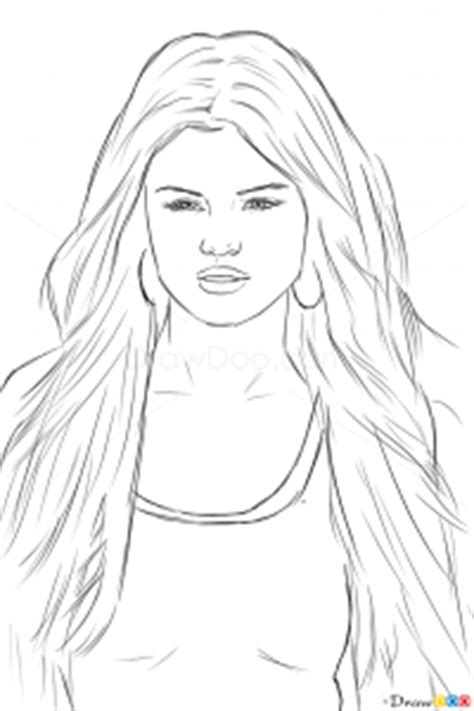 draw selena gomez celebrities