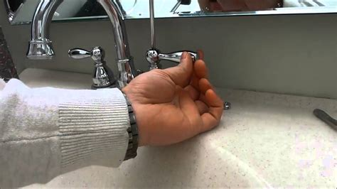 fix  loose faucet handle easily youtube