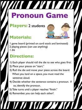 pronouns singular plural possessive subject object