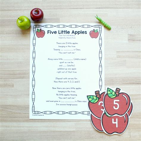 Preschool Apple Theme Activities - Fantastic Fun & Learning