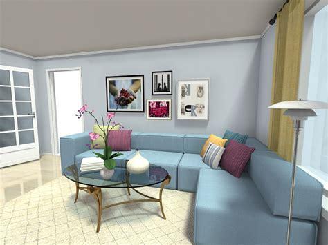 Living Room Ideas Blue Sofa : Living Room Ideas