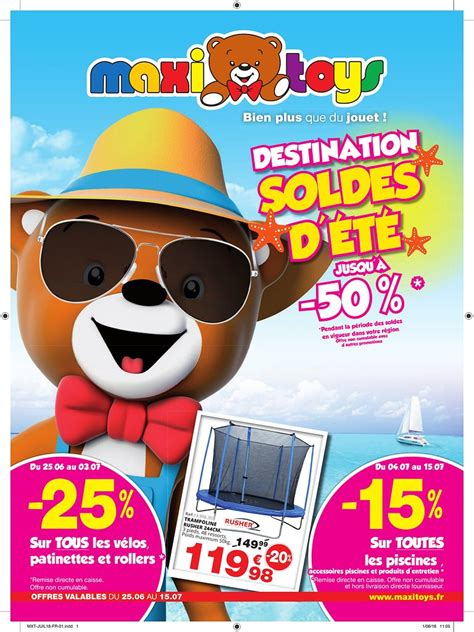 foto de Catalogue Maxi Toys Destination Soldes d'été 2018