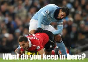 Funny Captions About Football