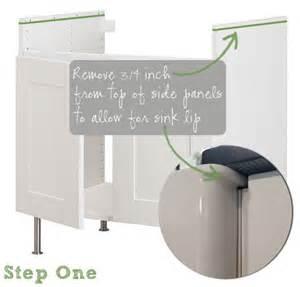 Ikea Domsjo Sink Measurements by How To Undermount Ikea S Domsjo Sink
