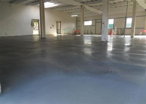 Factory concrete floor   Bautech