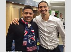 Zlatan Ibrahimovic meets idol and 'best player of all time
