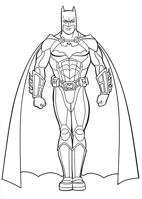 coloring pages batman batman 030 coloring page