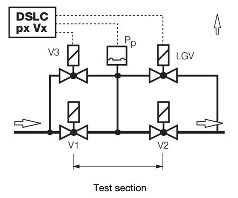 dslc px vx dungs control device  system leakage test