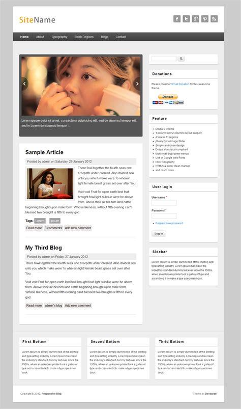 Responsive Blog   Drupal.org
