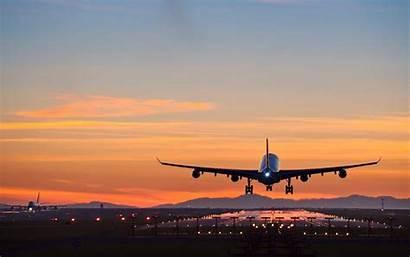 Flight Landing Travel Airplane Before