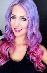 Lavender purple and pink ombre hair | Hairspiration ...