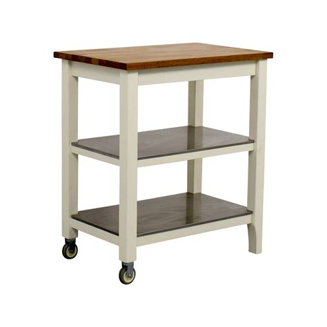 76% Off  Ikea Ikea Stenstorp Kitchen Cart  Tables