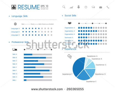 resume template stock photos images pictures