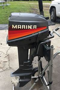 Mariner, 8hp, Outboard, Motor, For, Sale, Mercury, Mariner, Outboards