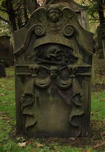Old Tombstones and Headstones