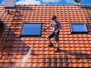 Perche Telescopique Nettoyage Toiture : nettoyage de toitures traitement anti mousse hydrofugation ~ Premium-room.com Idées de Décoration