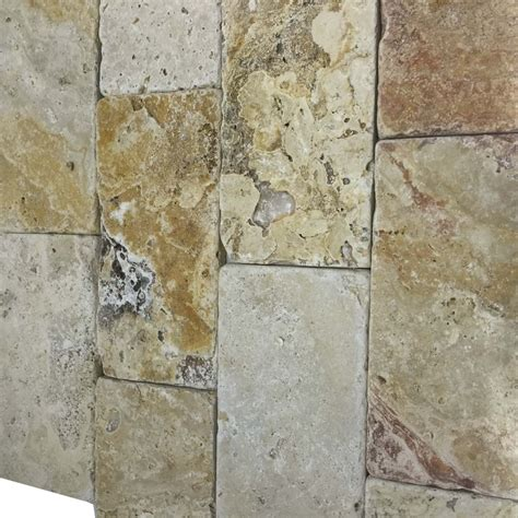 scabos travertine 3x6 tumbled tiles subway shop by