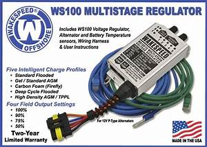 Ws100 12 Volt Multi Stage Voltage Regulator With