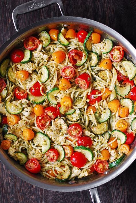 Learn how to make chicken parm with a perfectly crisp, golden, breaded exterior and a moist interior, with all the right flavors and just the right amount of gooey cheese. Parmesan Zucchini Tomato Chicken Spaghetti - Julia's Album