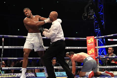 ufc fighters  boxing stars react  anthony joshuas
