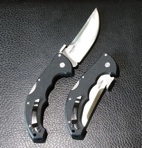 cold steel talwar folding knife   plainedge