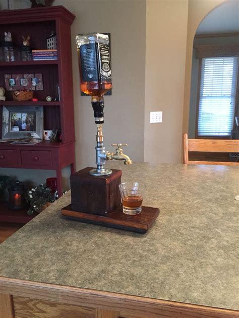 diy whiskey dispenser man cave pinterest bar drinks