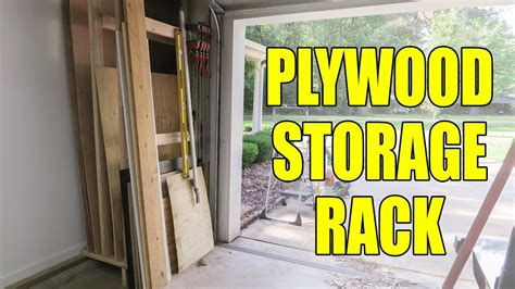 simple plywood rack   shop  youtube
