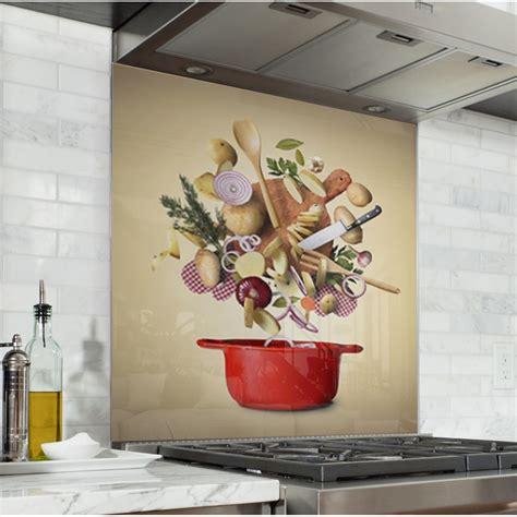 fonds de cuisine fond de hotte ingrédients cuisine verre alu credence