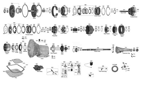 42rh Transmission Diagram by Jeep Transmission Parts Diagram Tf6 Jeep Auto Parts
