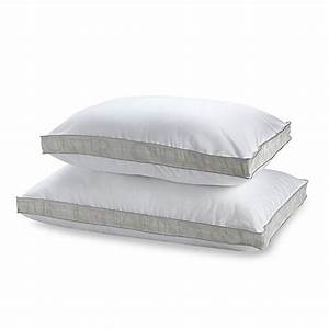 stearns fosterr luxe down alternative 100 cotton side With bed bath and beyond sleeping pillows